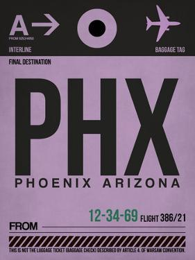 PHX Phoenix Luggage Tag 1 by NaxArt