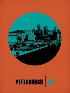 Pittsburgh Circle Poster 1 by NaxArt