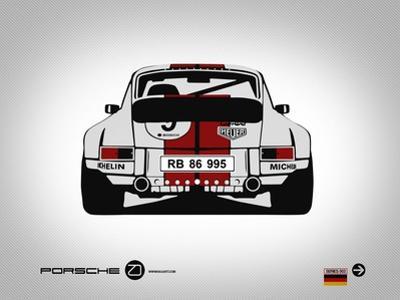 Porsche 911 Rear by NaxArt