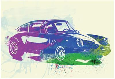Porsche 911 Watercolor by NaxArt