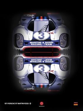 Porsche 917 Martini Rossi by NaxArt