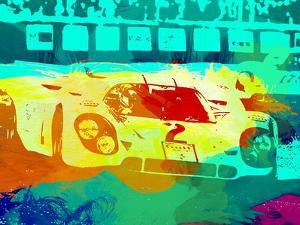 Porsche 917 Watercolor by NaxArt