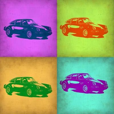 Porsche Pop Art 1 by NaxArt