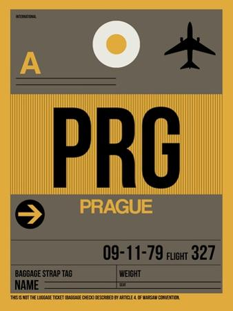 PRG Prague Luggage Tag 1 by NaxArt