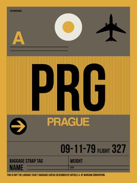PRG Prague Luggage Tag 1 by NaxArt