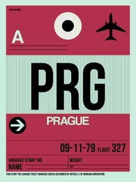 PRG Prague Luggage Tag 2 by NaxArt