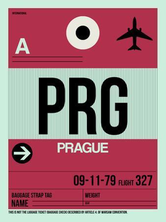 PRG Prague Luggage Tag 2 by NaxArt