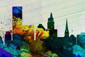 Providence City Skyline by NaxArt