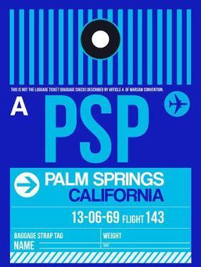 PSP Palm Springs Luggage Tag II by NaxArt