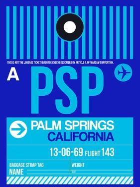PSP Palm Springs Luggage Tag II by NaxArt