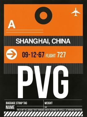 PVG Shanghai Luggage Tag II by NaxArt