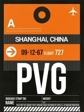 PVG Shanghai Luggage Tag II by NaxArt