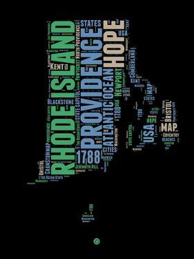 Rhode Island Word Cloud 2 by NaxArt