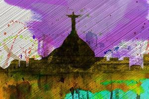 Rio City Skyline by NaxArt