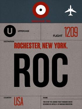 ROC Rochester Luggage Tag I by NaxArt