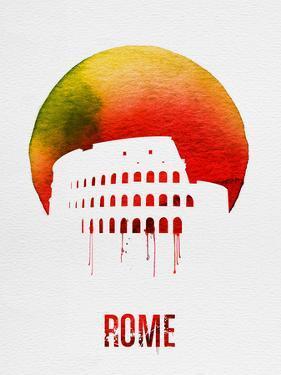 Rome Landmark Red by NaxArt