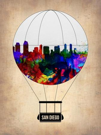 San Diego Air Balloon by NaxArt