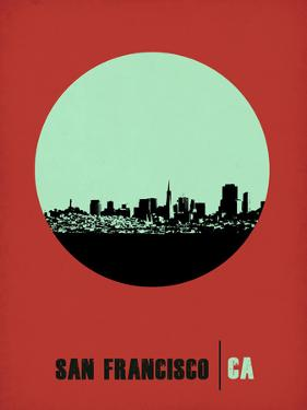 San Francisco Circle Poster 1 by NaxArt