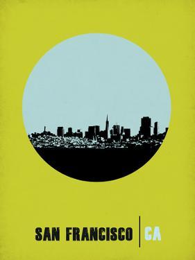San Francisco Circle Poster 2 by NaxArt