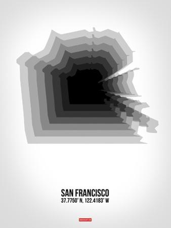 San Francisco Radiant Map 4 by NaxArt