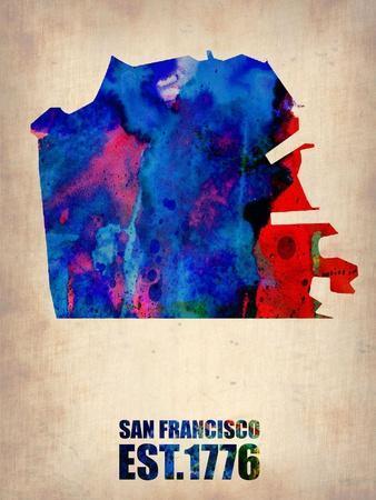 San Francisco CA Framed Art for sale at AllPosterscom