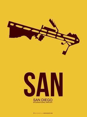 San San Diego Poster 1 by NaxArt