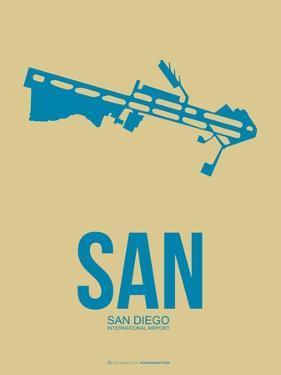 San San Diego Poster 3 by NaxArt