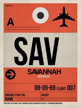 SAV Savannah Luggage Tag I by NaxArt