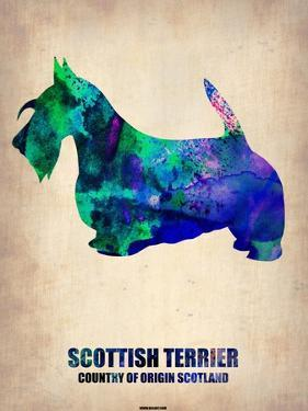 Scottish Terrier Poster by NaxArt