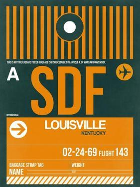 SDF Louisville Luggage Tag I by NaxArt
