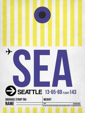 SEA Seattle Luggage Tag 1 by NaxArt