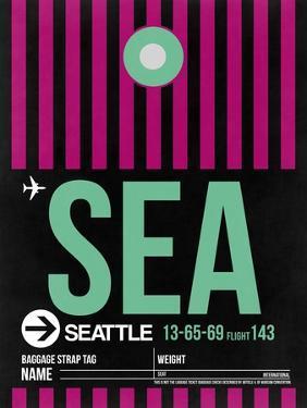 SEA Seattle Luggage Tag 2 by NaxArt