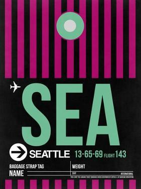 SEA Seattle Luggage Tag 2 by NaxArt