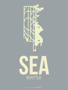 Sea Seattle Poster 3 by NaxArt
