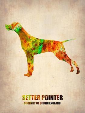 Setter Pointer Poster by NaxArt