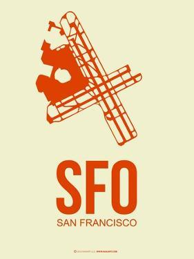 Sfo San Francisco Poster 1 by NaxArt