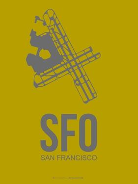 Sfo San Francisco Poster 3 by NaxArt