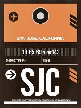 SJC San Jose Luggage Tag II by NaxArt
