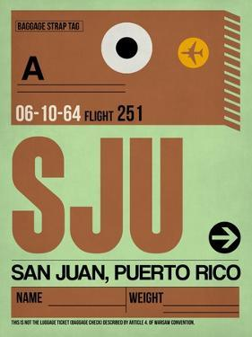 SJU San Juan Luggage Tag I by NaxArt