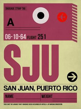 SJU San Juan Luggage Tag II by NaxArt