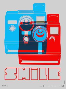 Smile Polaroid Poster by NaxArt