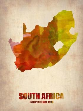 South Africa Watercolor Poster by NaxArt