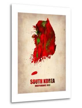 South Korea Watercolor Map by NaxArt