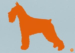 Standard Schnauzer Orange by NaxArt
