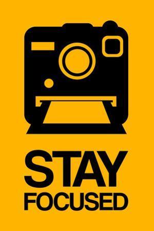 Stay Focused Polaroid Camera 2 by NaxArt