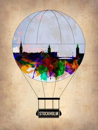 Stockholm Air Balloon by NaxArt