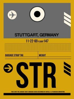 STR Stuttgart Luggage Tag I by NaxArt