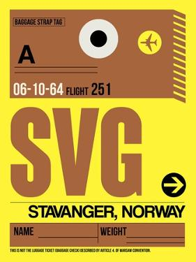 SVG Stavanger Luggage Tag I by NaxArt