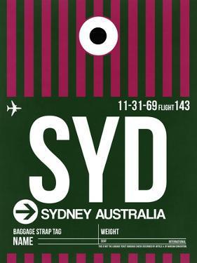 SYD Sydney Luggage Tag 2 by NaxArt