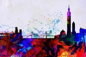 Taipei City Skyline by NaxArt